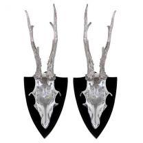 Skull Deer set of 2