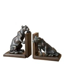 Bookend Lioness set of 2