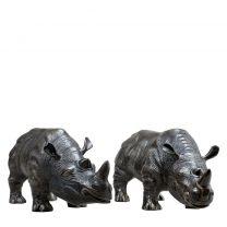 Rhinoceros set of 2