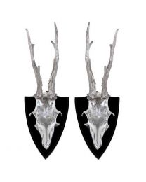 Skull Deer set of 2